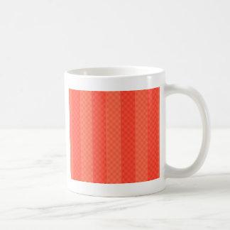 Melon Orange Stripes Coffee Mug