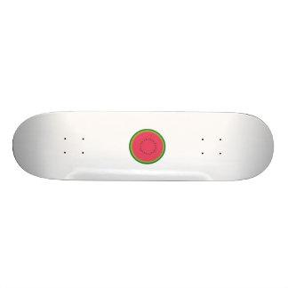 melón partido en dos tablas de skate