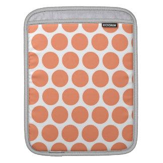 Melon Retro Colorful Modern Polka Dots Sleeve For iPads
