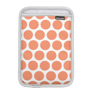 Melon Retro Colorful Modern Polka Dots Sleeve For iPad Mini