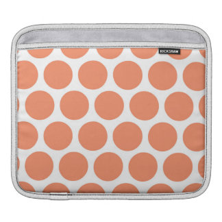 Melon Retro Colorful Modern Polka Dots Sleeves For iPads