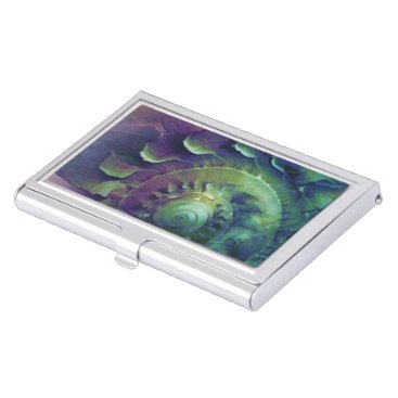 Professional Business Melon Shell Abstract Business Card Case