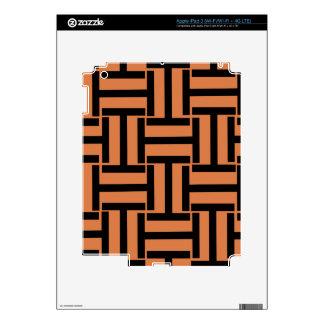 Melón y armadura negra de T iPad 3 Pegatina Skin
