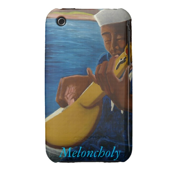 Meloncholy iPhone 3 Case-Mate Case