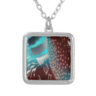meloncholy silver plated necklace