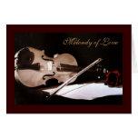 Melondy de la tarjeta del día de San Valentín del