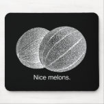MELONES AGRADABLES - BLANCO - .PNG TAPETES DE RATONES