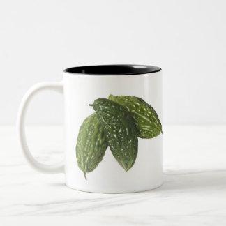 Melones amargos taza de café