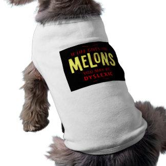 Melones Camisa De Perrito
