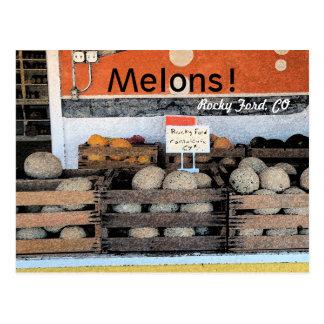 ¡Melones! Postal