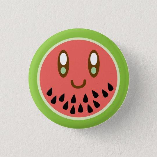 Melonface Luvs You Button