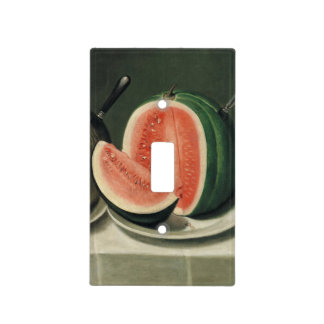 """Melons"" art light switch cover"