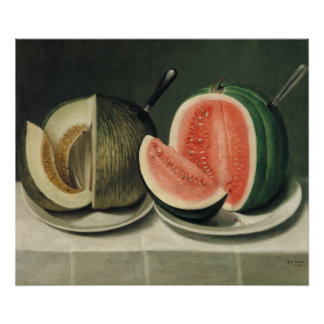 """""""Melons"""" art poster"""