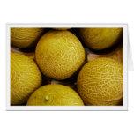 Melons in Burough Street Market Card