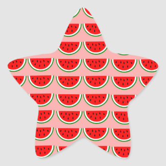 Melons samples star sticker