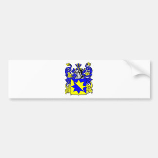 Melot Coat of Arms Bumper Sticker