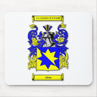 Melot Coat of Arms Mouse Pad