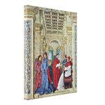 Melozzo DA Forli - papa Sixto IV Lienzo Envuelto Para Galerías
