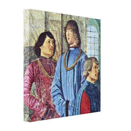 Melozzo DA Forli - papa Sixto IV Impresiones En Lona