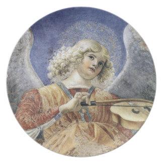 Melozzo Renaissance Christmas Angel Fine Art Plate