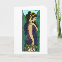 Melpomene Greeting Card