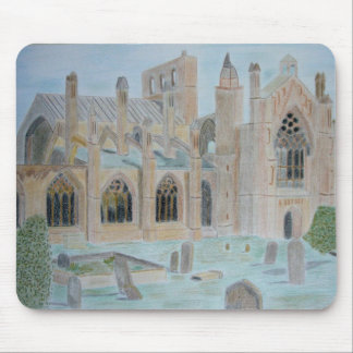 melrose_abbey  Mousepad