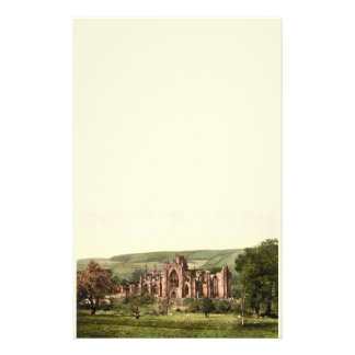 Melrose Abbey, Scottish Borders, Scotland Stationery Design