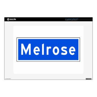 "Melrose Avenue, Los Angeles, CA Street Sign Skins For 15"" Laptops"