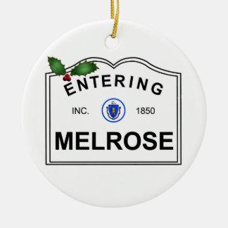 Melrose MA ChristmaS Tree Ornament