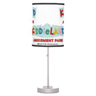 Melrose Park Kiddieland Amusement Park, IL Table Lamp