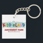 """Melrose Park Kiddieland Amusement Park, Illinois Keychain<br><div class=""""desc"""">Melrose Park Kiddieland Amusement Park,  Illinois,  Chicago,  Keychain</div>"""