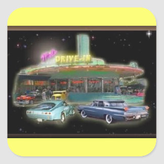 Mel's Drive-In Stickers (Square)