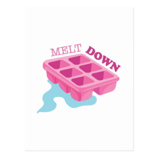 Melt Down Postcard