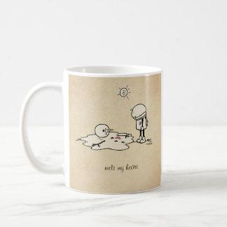 Melt my heart with love coffee mug