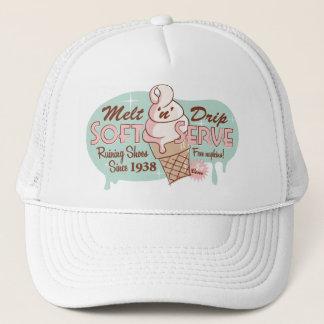 Melt 'n' Drip Soft Serve Ice Cream Hat (White)