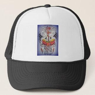 Melt-on Blue Trucker Hat