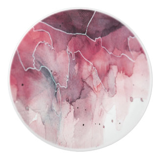 Melt Water Color Ceramic Knob