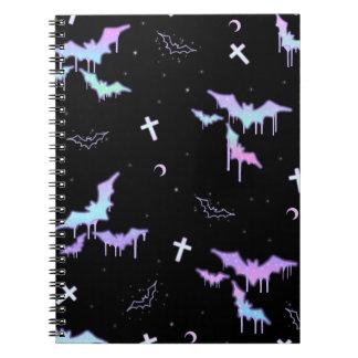 MeltaBat (Black) Notebook