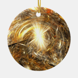 Meltdown Ceramic Ornament