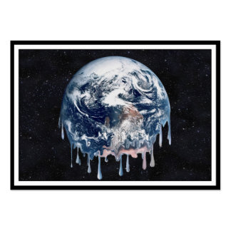Meltdown (Full Universe Background) Large Business Cards (Pack Of 100)