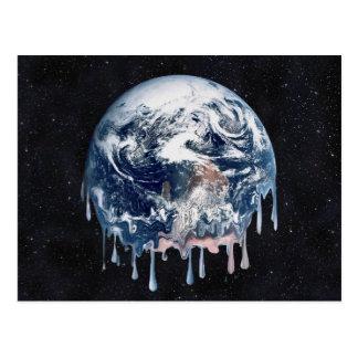 Meltdown (Full Universe Background) Postcard