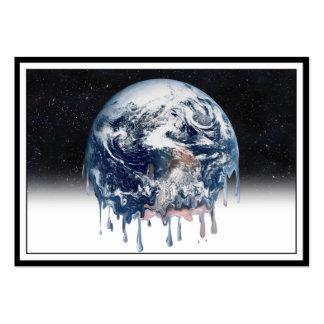 Meltdown (Half Universe Background) Large Business Cards (Pack Of 100)