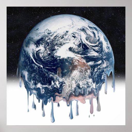 Meltdown (Half Universe Background) Poster