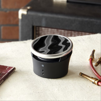 Melted Black&White Abstract Bluetooth Speaker