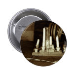 Melted Candles Pinback Button