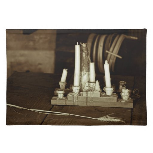 Melted Candles Placemats