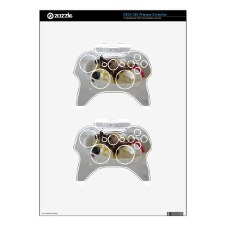 Melted chocolate ball with zabaglione cream xbox 360 controller decal