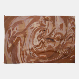 Melted Chocolate Kitchen Towel