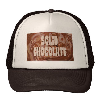 Melted Chocolate Mesh Hat