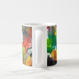 Melted Crayon Art Mug